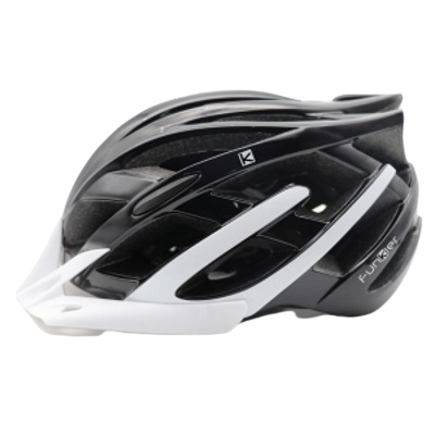 Funkier F-135 Leisure Helmet Black & White