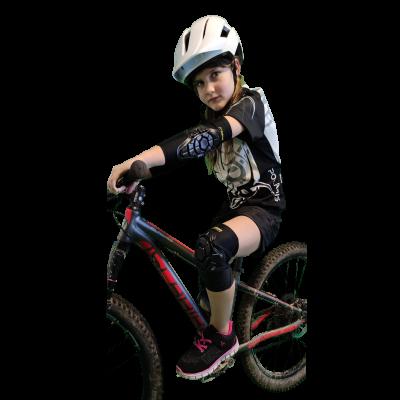 Mountain Workz Kids Cycling Pad Set