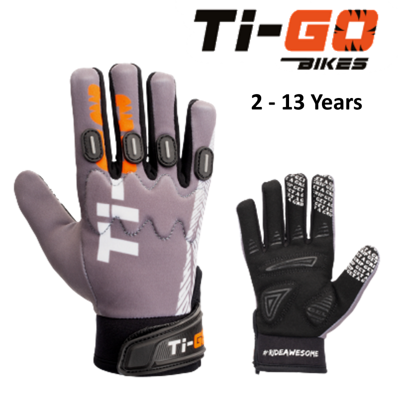 Ti=Go Kids #RideAwesome Pro Cycling Glove
