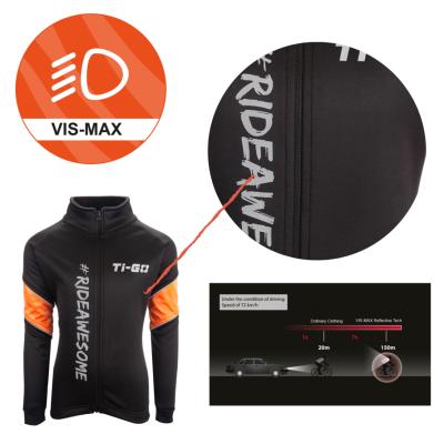 Ti-Go Kids Totes Warm Cycling Jacket Tech Info