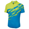 Altura Airstream Kids Short Sleeved Cycling Jersey - Blue & Lime