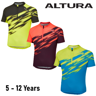 Altura Airstream Kids Short Sleeved Cycling Jersey