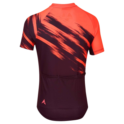 Altura Airstream Kids Short Sleeved Cycling Jersey - Pink & Purple