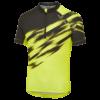 Altura Airstream Kids Short Sleeved Cycling Jersey - Hi Viz & Olive