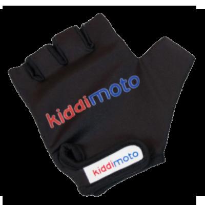 Kiddimoto Kids Cycling Gloves - Black