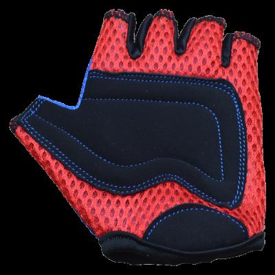 Kiddimoto Kids Cycling Gloves - Blue Palm