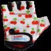 Kiddimoto Kids Cycling Gloves - Cherry