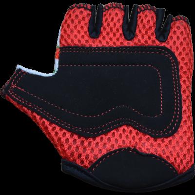 Kiddimoto Kids Cycling Gloves - Cherry Palm