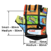 Kiddimoto Kids Cycling Gloves - Comic Tech Info