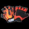 Kiddimoto Kids Cycling Gloves - Flames