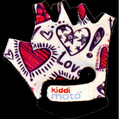 Kiddimoto Kids Cycling Gloves - Love