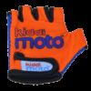 Kiddimoto Kids Cycling Gloves - Orange