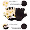 Kiddimoto Kids Cycling Gloves - Paws Tech Info