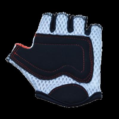 Kiddimoto Kids Cycling Gloves - Red Dotty Palm