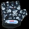 Kiddimoto Kids Cycling Gloves - Skullz