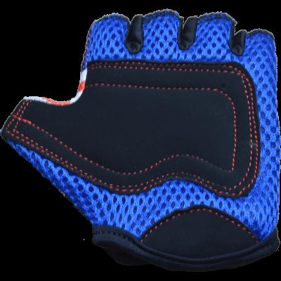 Kiddimoto Kids Cycling Gloves - Union Jack Palm