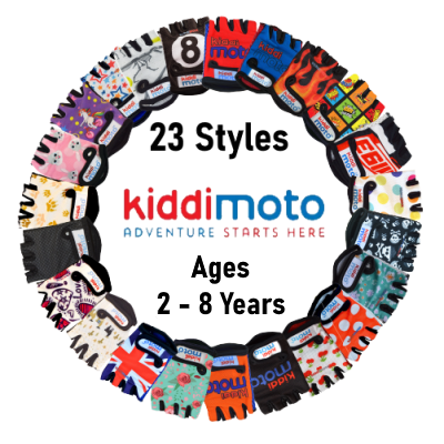 Kiddimoto Kids Cycling Gloves Clover