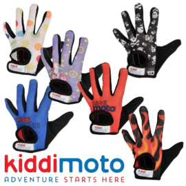 Kiddimoto Kids Full Fingered Cycling Gloves