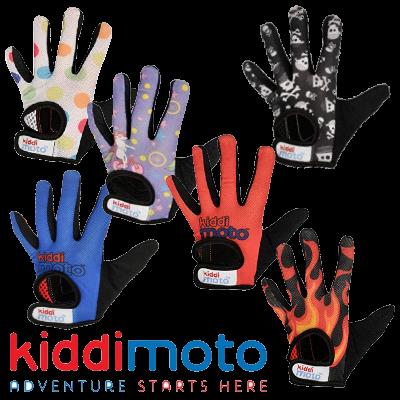 Kiddimoto Kids Full Fingered Cycling Gloves