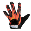 Kiddimoto Kids Full Fingered Cycling Gloves Flames