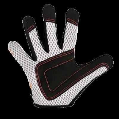 Kiddimoto Kids Full Fingered Cycling Gloves Pastel Dotty Palm
