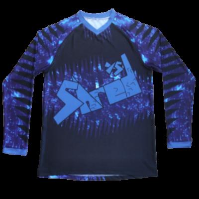 Shred XS Space Kids Cycling Jersey - Jupiter