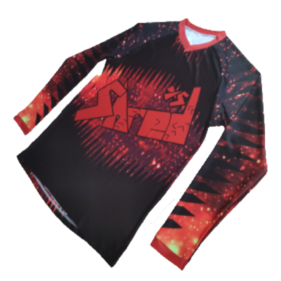 Shred XS Space Kids Cycling Jersey - Mars