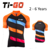 Ti-Go Bikes Short Sleeved Kids Cycling Jersey