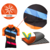 Ti-Go Bikes Short Sleeved Kids Cycling Jersey Tech Info