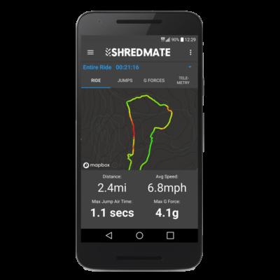 ShredMate Speed Display